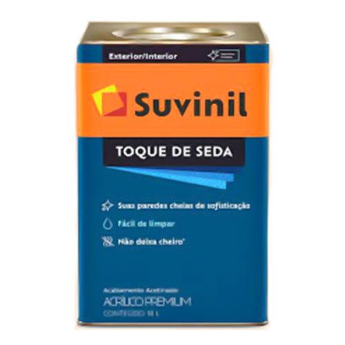 TINTA TOQUE DE SEDA BR 001 LATÃO SUVINIL - 18 LT