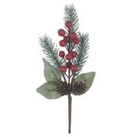 Pick 27cm Berry c/ Pinha Vermelho