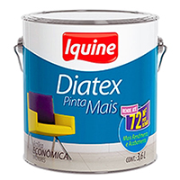 TINTA DIATEX PVA AREIA GALÃO IQUINE - 3,6 LT