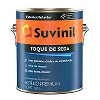 TINTA TOQUE DE SEDA BR 001 GALÃO SUVINIL - 3,6 LT