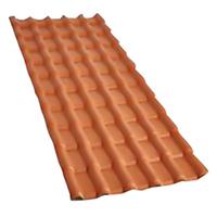TELHA PVC COLONIAL PLAN CERÂMICA 2,41 X 0,88 M