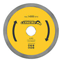 DISCO DIAMANTADO LISO 110X20MM CARNEIRO